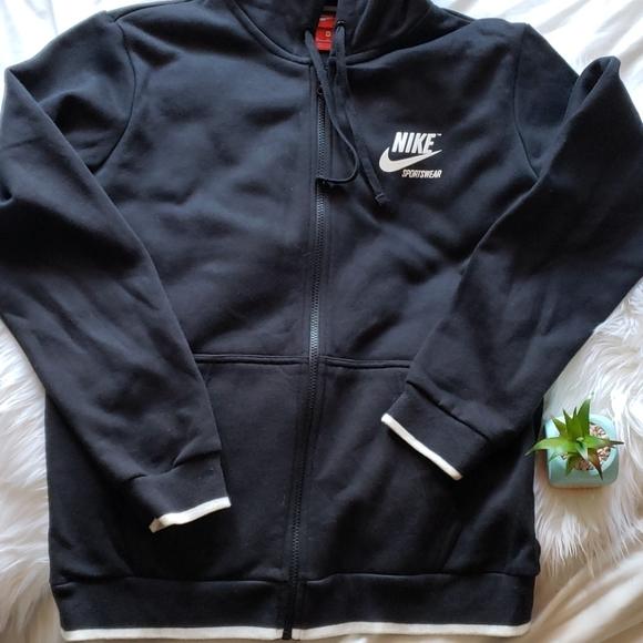 Nike Other - Nike Sportswear Full Zip Black Hoodie